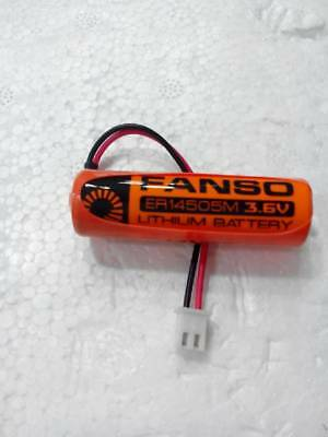 1pc Original FANSO ER14505M 3.6V water meter battery with white plug T3347 YS
