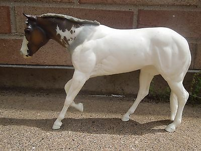 CM Artist Resin Horse Loping Amity with Breyer Lady Phase Head