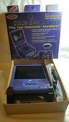 Intec GameCube Portable Video Game Screen  *AS-IS* UNTESTED