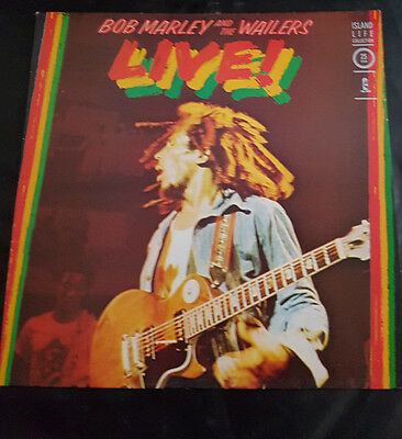 """Bob Marley and the Wailers LIVE! - LP Vinyl - 12"""" In very good condition."""