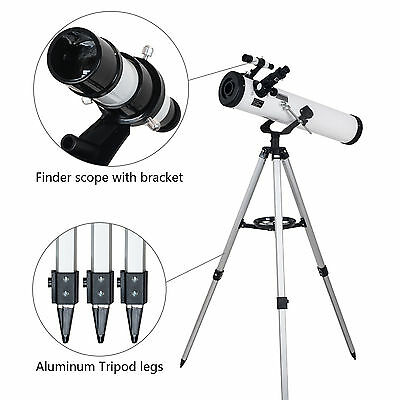 New 700x76mm Reflector Night Vision Astronomical Telescope AU