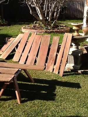 Reclaimed Red gum Timber