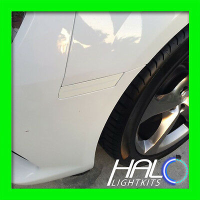 2010-2014 Oracle Chevy Camaro Concept Summit White Ghosted Led Side Markers 4Pc