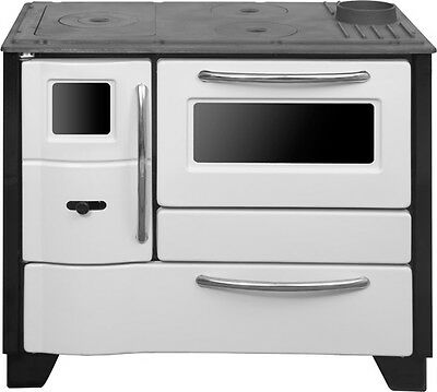 Slow Combustion Wood Heater with Stove and  Pizza Oven