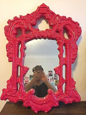 Pink Antique Mirror