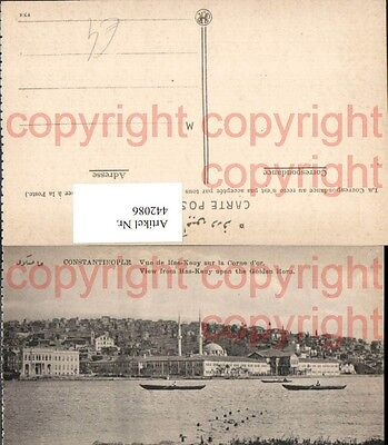 442086,Turkey Constantinople Konstantinopel View from Has-Keny upon the Golden H
