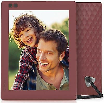 Nixplay Seed 8 inch WiFi Digital Photo Frame Mulberry