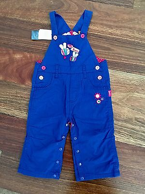 Pumpkin Patch Baby Girl Overall Romper NEW 6-12 Months