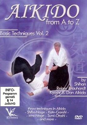 Aikido from A to Z - Basic Techniques Vol. 2 [DVD]