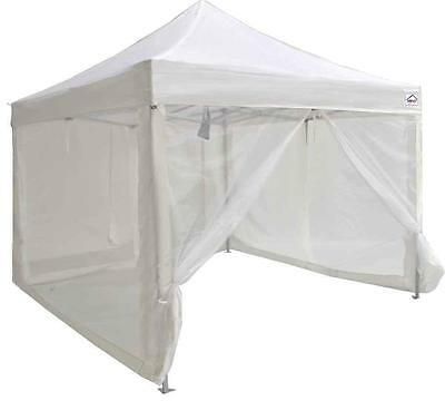 Impact Canopies 10x10 Mesh Wall Sidewalls for Pop Up Canopy Screen Room...