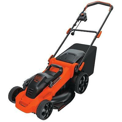 BLACK DECKER MM2000 13 Ampere Corded Mower, 20 Inch