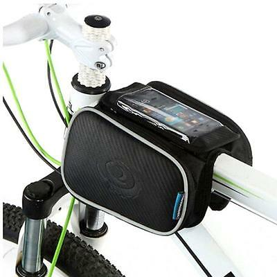 Cycling Frame Pannier Cell Phone Bag, WOTOW Bike Front Top Tube Touchscreen...