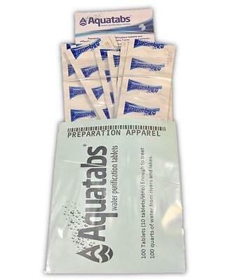 Aquatabs Water Purification Tablets 100 pack