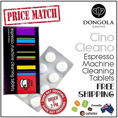 Espresso Coffee Machine Cleaning Tablets Cleaner Clean - CINO CLEANO by Cafetto