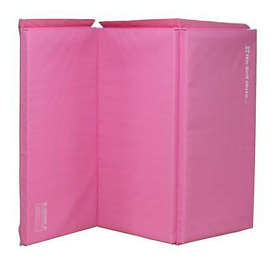 We Sell Mats Pink 2 Inch Thick 4 Feet by 6 Gymnastics Tumbling Exercise...