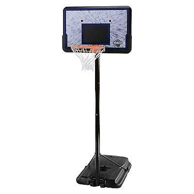 Lifetime Pro Court Height Adjustable Portable Basketball System with 44 Inch...