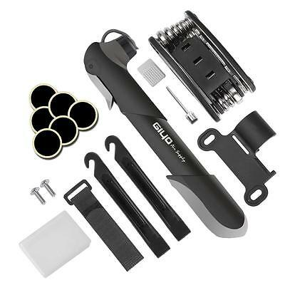 Giwil Bicycle Multi Function 16 in 1 Cycling Bike Tyre Repair Tool Kit with...