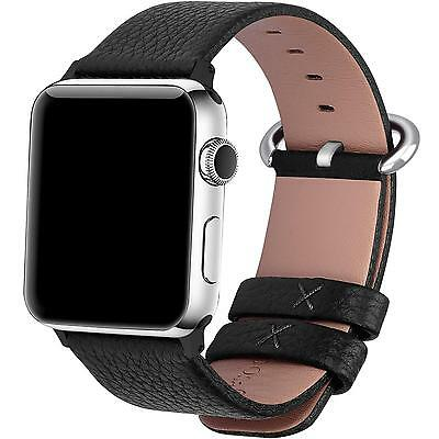 Apple Watch Bands 42mm, Fullmosa Yan Series Lichi Calf Leather Strap...