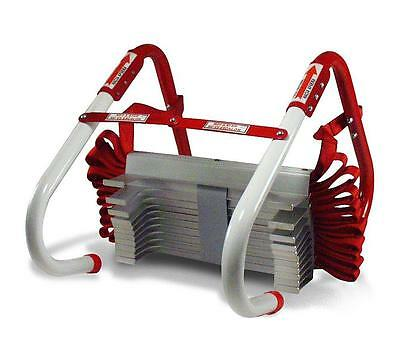 Kidde 468094 Three Story Fire Escape Ladder with Anti Slip Rungs, 25 Foot
