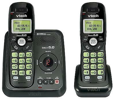 Vtech Dect 6.0 2 Handset Cordless Phone System with Digital Answering...