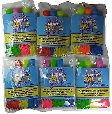 Super Value Water Balloons 6 Sets with total 600 – Be ready for Bombs Fight...