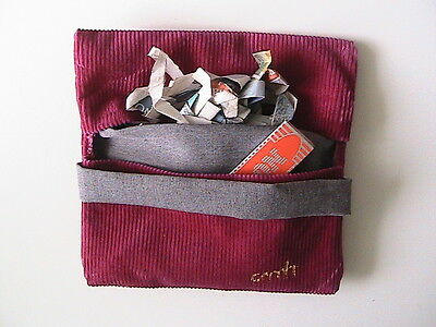 roll-up tobacco pouch packet pouch -- pouch for your packet with pocket n46