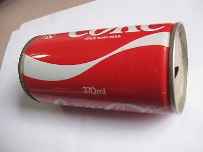 Old Steel Coca Cola can.