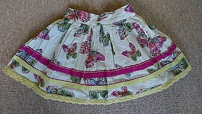 Beautiful NEXT butterfly skirt 6-9 month baby girls VGC