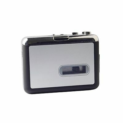 Portable TF Card USB Cassette-to-MP3 Converter Capture Audio Music Player