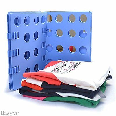 Ohuhu Clothes Pant Shirt Folder Folding Board Flip Fold Laundry Organizer