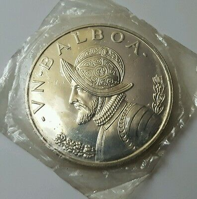 PANAMA 1972 1 Balboa Silver Crown Choice Proof in Sealed Package