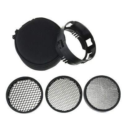 Haoge Off-Camera Flash Grid Kit for Profoto B1 and B2 Monolight Strobe Light