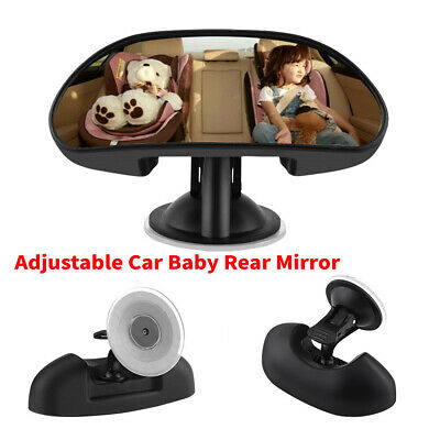 Universal Car Baby Child Care Back Seat Rear View Safety Mirror With Suction Cup