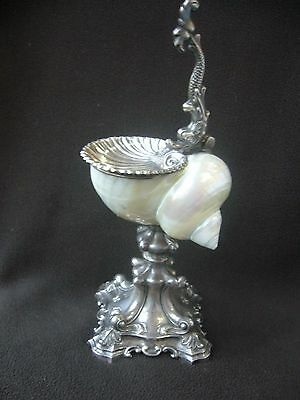 Silver Mounted Nautilus Cup