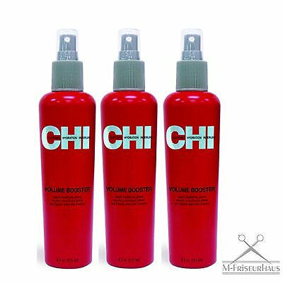 (€53,11/1L) 3x CHI 44 FAROUK Volume Booster Liquid Bodifying Glaze 251ml aus USA