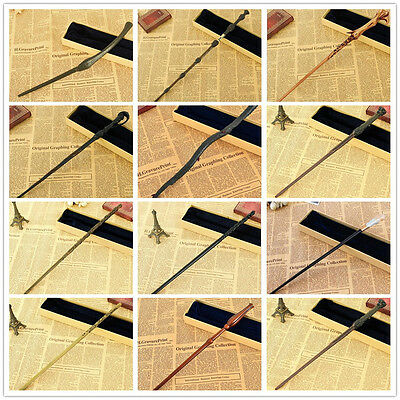 Harry Potter Style Characters Cast Metal core Magical_ Magic Wand Cosplay Party