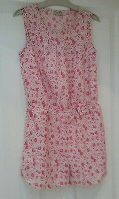 Beautiful Girls Next Pink Shorts Playsuit Age 10 BNWOT