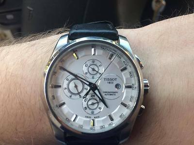 Tissot Chronograph Automatic Couturier Wrist Watch for Men