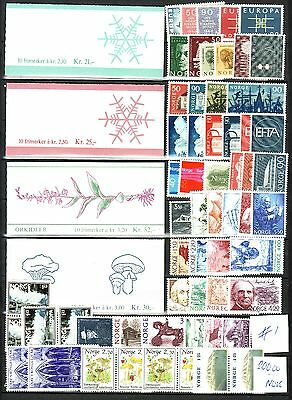 Norway With Booklets - Face Value 200.00 Nok -  - All Mnh - #1