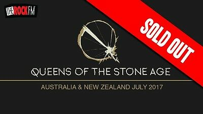 QUEENS OF THE STONE AGE Melbourne Licensed Floor Standing Ticket 18+ QOTSA July
