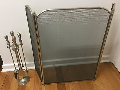 Fire Tool Set And Fire Screen