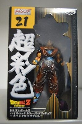 Dragon Ball Z 21 Goku Gokou Clear Hscf Figura Nueva New Figure