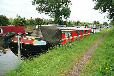 Captains Folly - 49ft cruiser stern narrowboat with recent survey