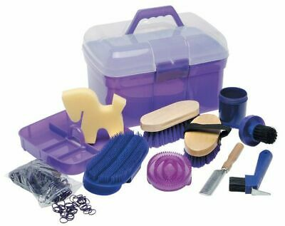 Pony Club Grooming Kit PURPLE