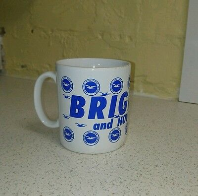Brighton and hove albion football club coffee tea mug