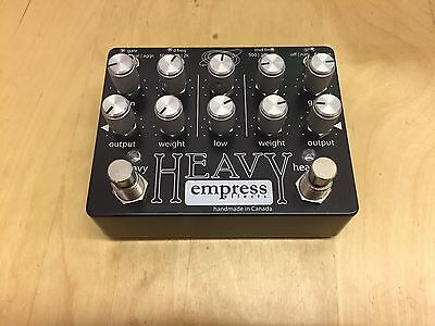 Empress Effects Heavy Overdrive/distortion Pedal
