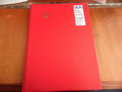 USA Stock-Book ~ Contains Multiple/Singles/Sets/Perfins/Cancels////Etc