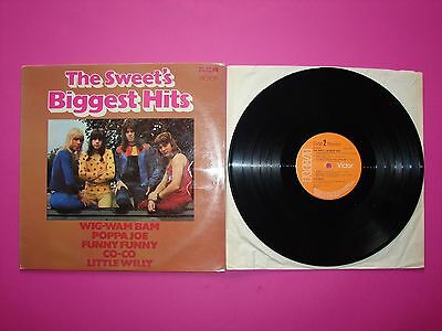 THE SWEET'S BIGGEST HITS LP Vinyl Record (Excellent condition)