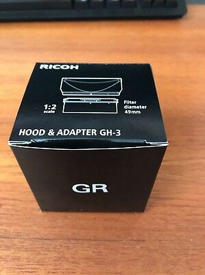 Ricoh Hood & Adapter GH-3