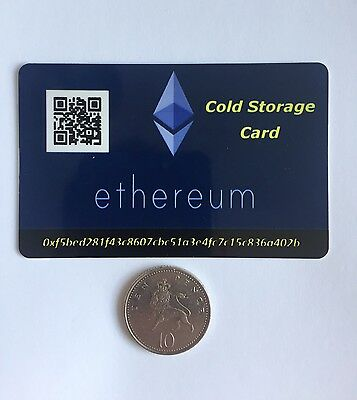 Ethereum Offline Wallet - Cold Storage